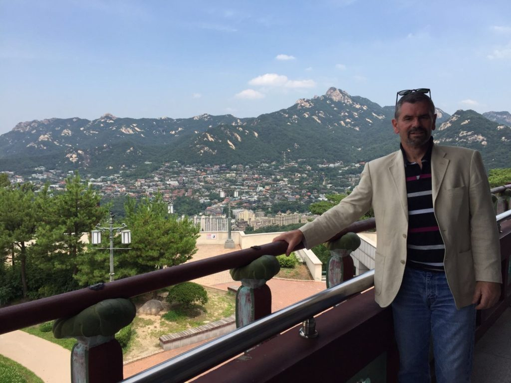 Andrew Lowe in Seoul